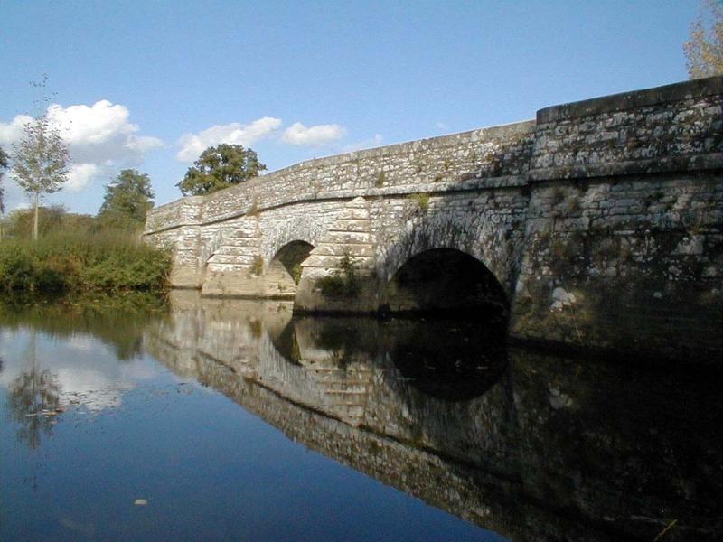 Le pont de Vaugon