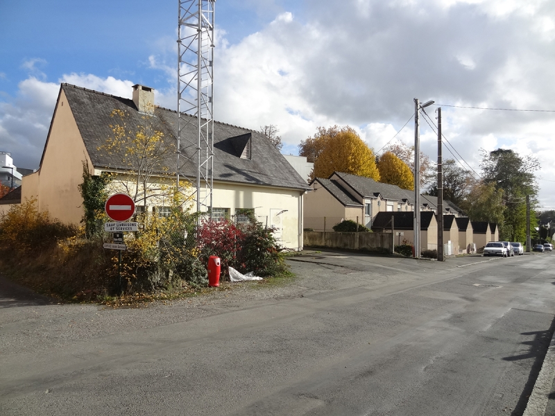 Les maisons rue du Parc