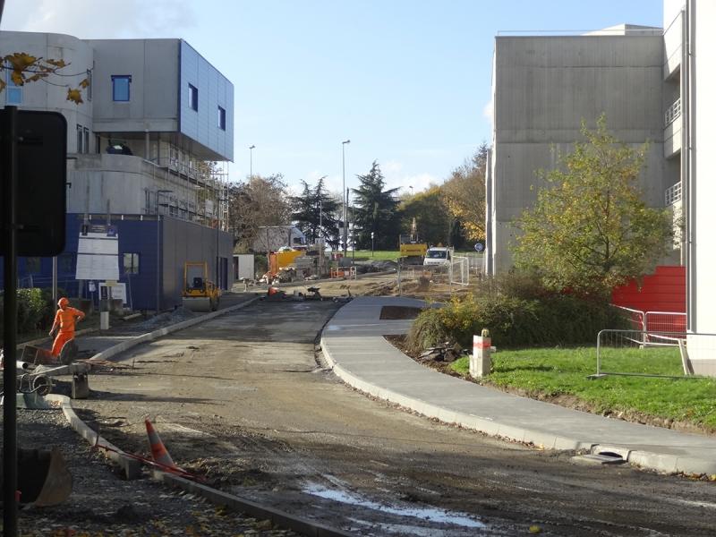 L'aménagement de l'avenue de la Chalotais