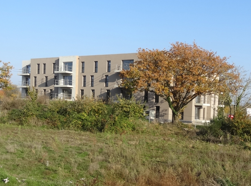 La future résidence L'Oppidum