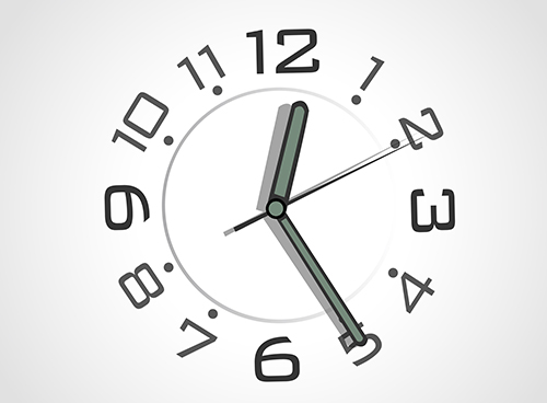 Simple watch over grey background. Vector design.  - Simple watch over grey background. Vector design.